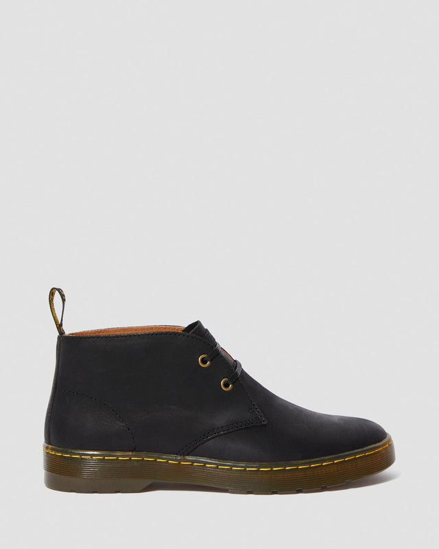 Dr. Martens Men's Cabrillo Wyoming Leather Desert Boots - Black