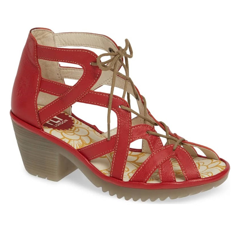 Women's Fly London Want - Lipstick Red