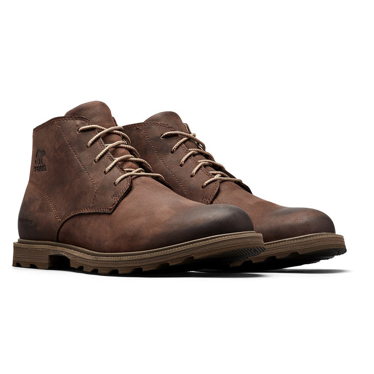 Sorel Men's Madson Chukka Waterproof Boot - Tobacco/Sandy Tan