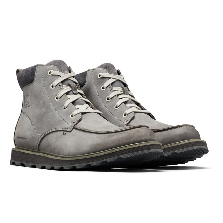 Men's Sorel Madson Moc Toe Waterproof Boot - Quarry