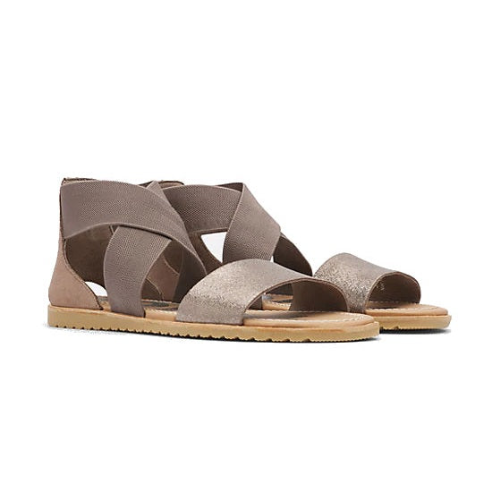 Sorel Women's Ella Sandal - Ash Brown