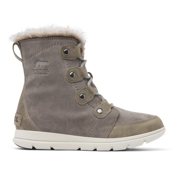 Sorel Women's Explorer Joan Boot - Quarry/Black