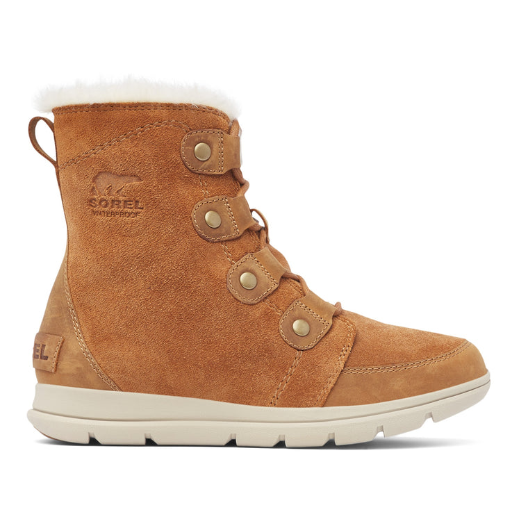 Sorel Women's Explorer Joan Boot - Camel Brown/Ancient Fossil