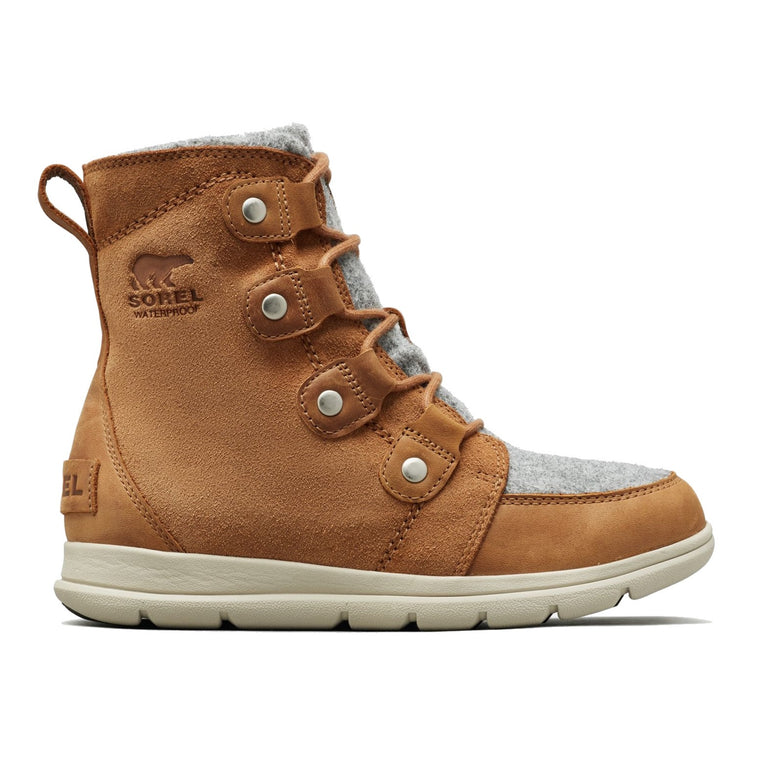 Sorel Women's Explorer Joan Boot - Felt Camel Brown