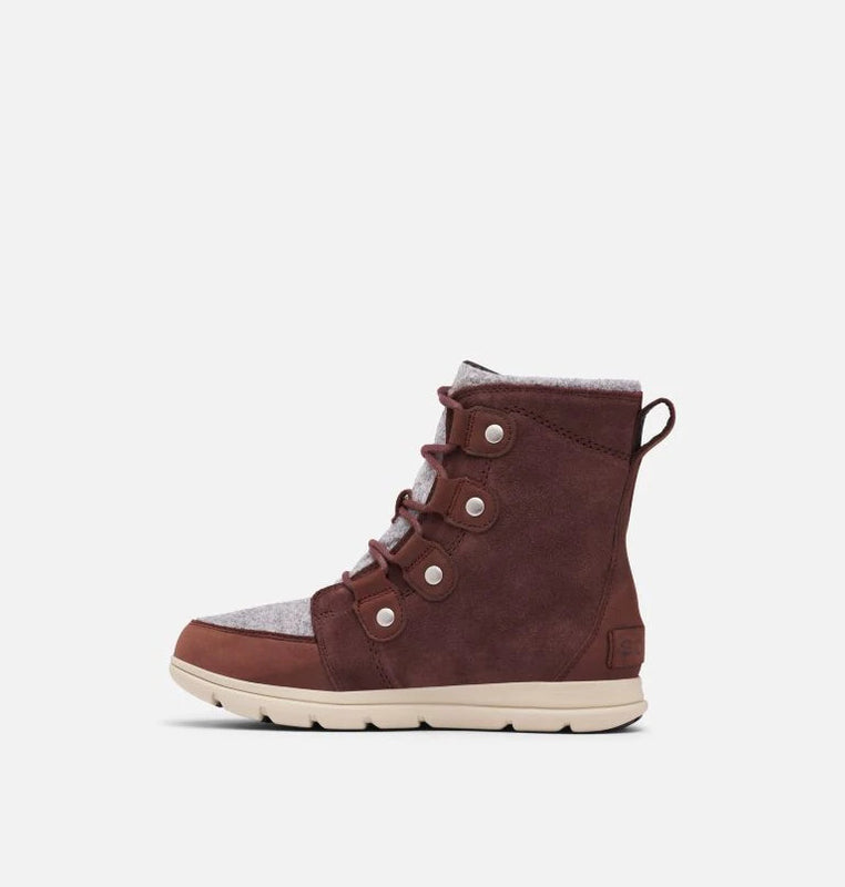 Sorel Women's Explorer Joan Boot - Felt Redwood