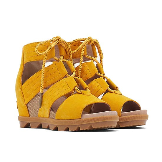 Sorel Women's Joanie II Lace Sandal - Golden Yellow