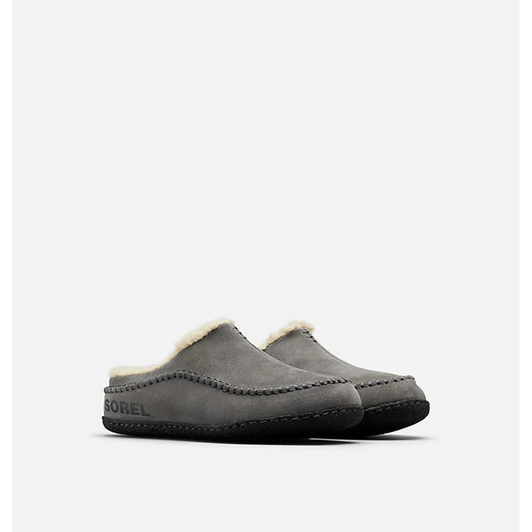 Men's Sorel Falcon Ridge II Slipper - Quarry/Black