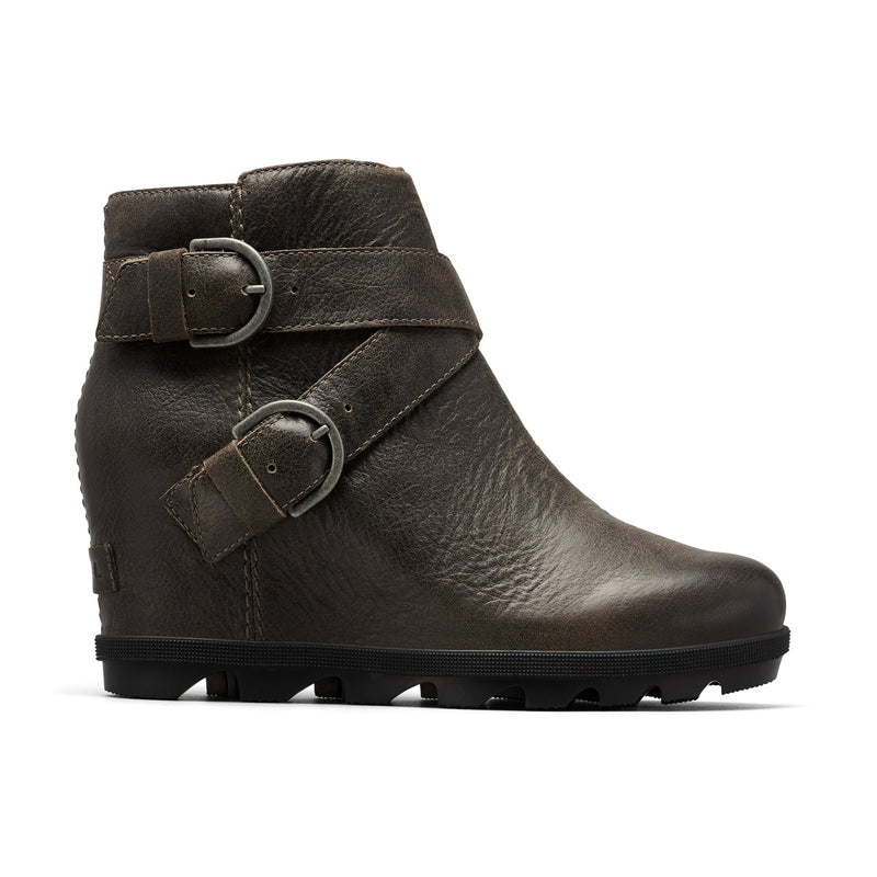 Sorel Women's Joan Of Arctic Wedge II Buckle Bootie - Quarry