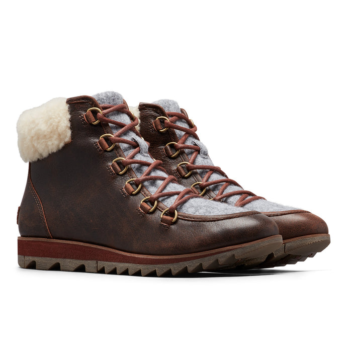 Sorel Women's Harlow Lace Cozy Boot - Burro