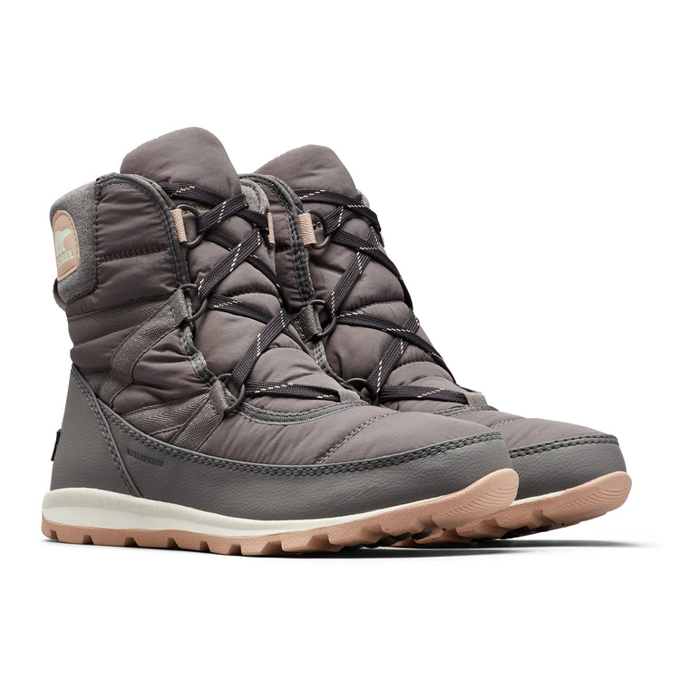 Women's Sorel Whitney Short Lace Boot - Quarry