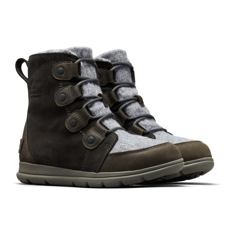 Women's Sorel Explorer Joan Boot - Coal