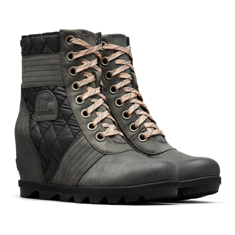 Women's Sorel Lexie Wedge Boot - Dark Slate