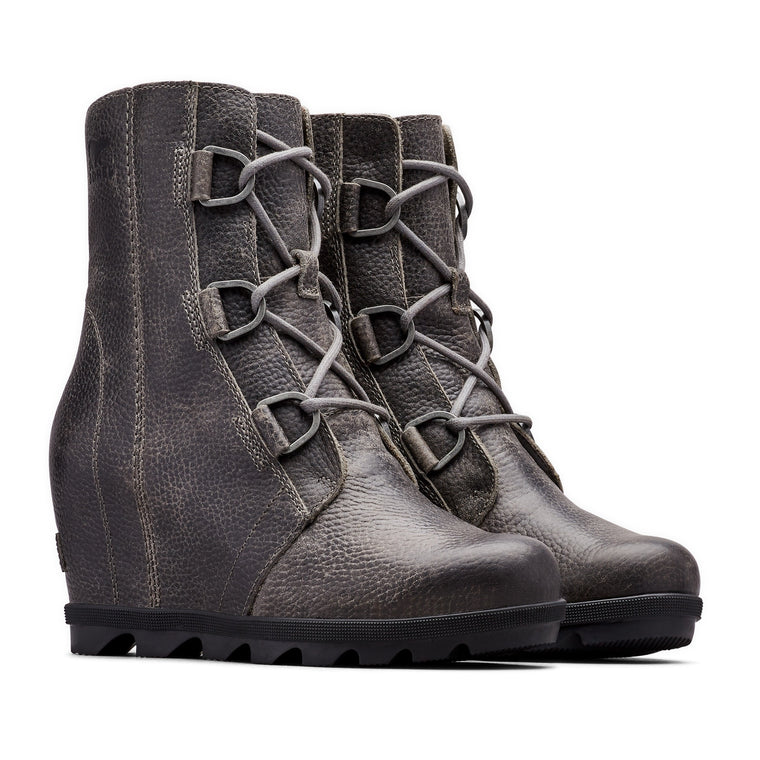 Women's Sorel Joan of Arctic Wedge II Boots - Quarry