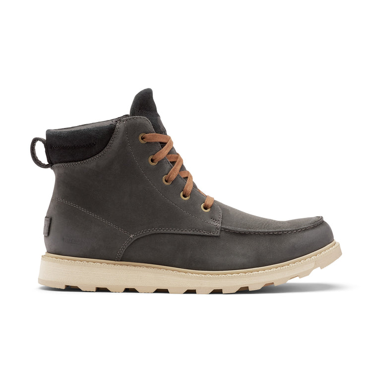 Sorel Men's Madson II Moc Toe Boot - Coal