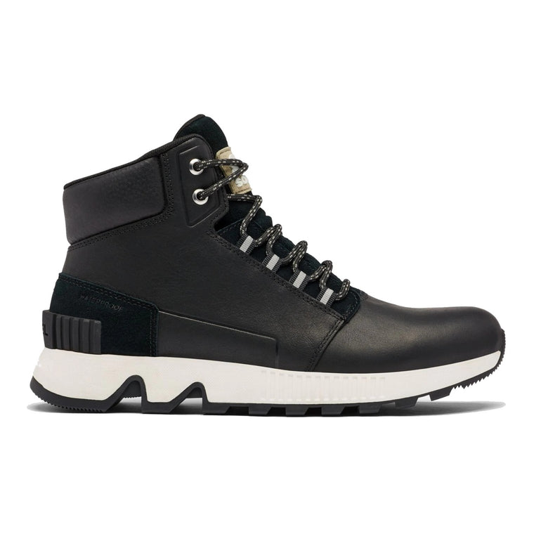 Sorel Men's Mac Hill Mid Leather Boot - Black