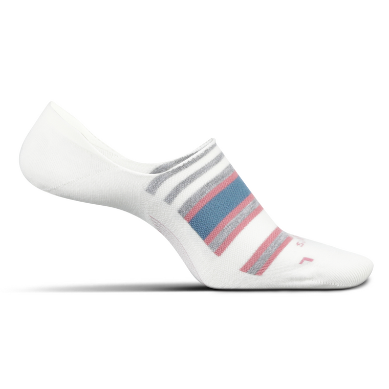 Feetures Women's Everyday Hidden Stripe Socks - Natural