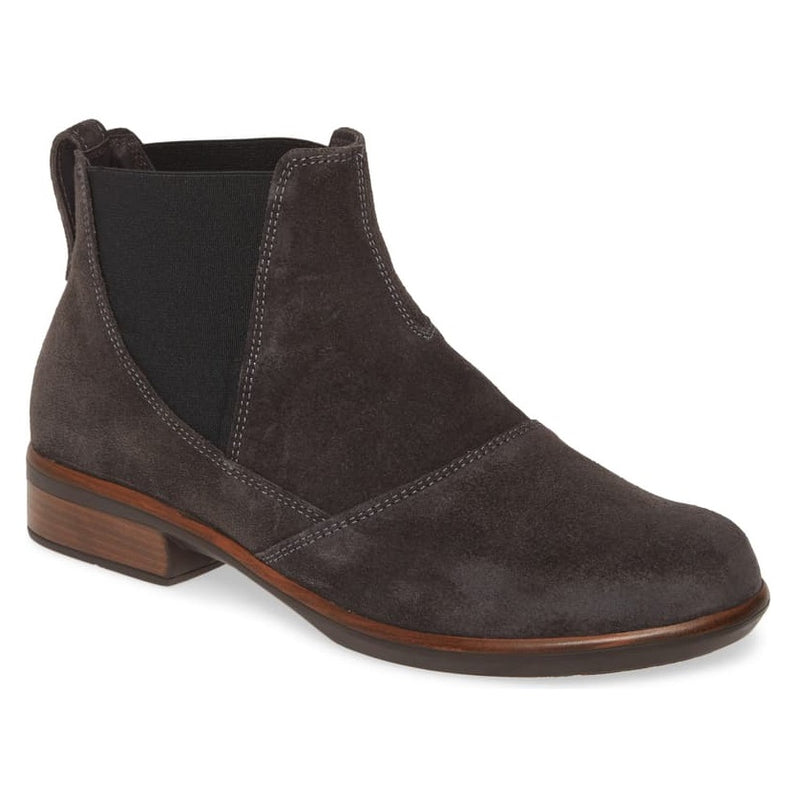 Women's Naot Ruzgar Chelsea Boot - Oily Midnight Suede