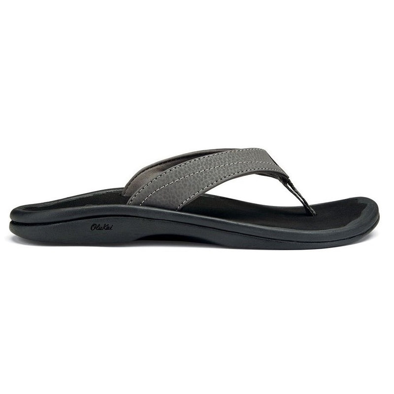 Women's OluKai Ohana Beach Sandals - Basalt/Grey