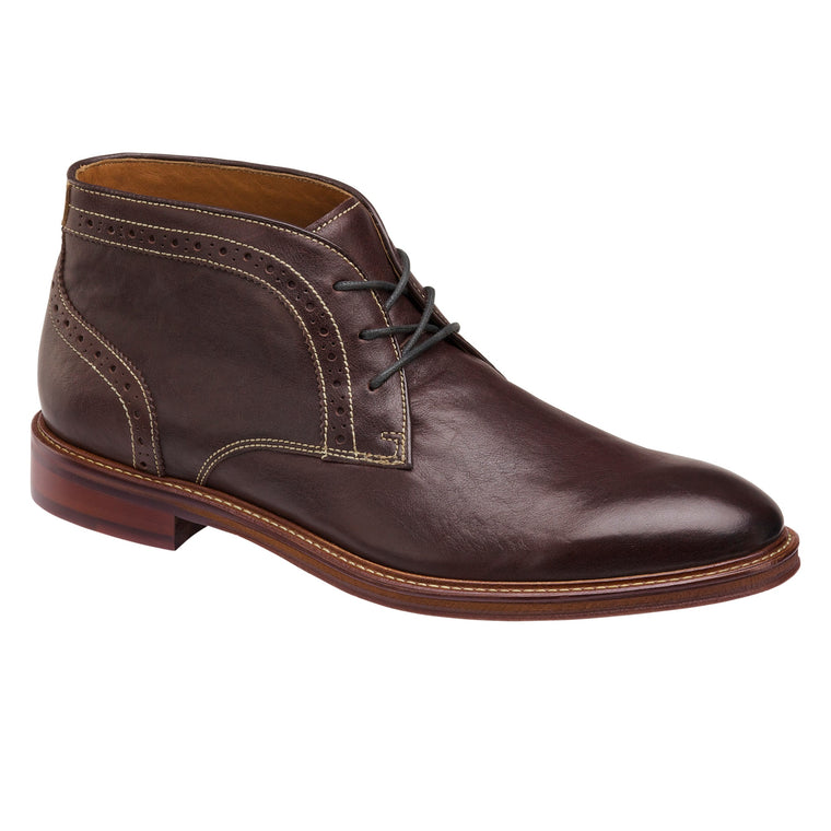 Men's Johnston & Murphy Warner Chukka - Mahogany