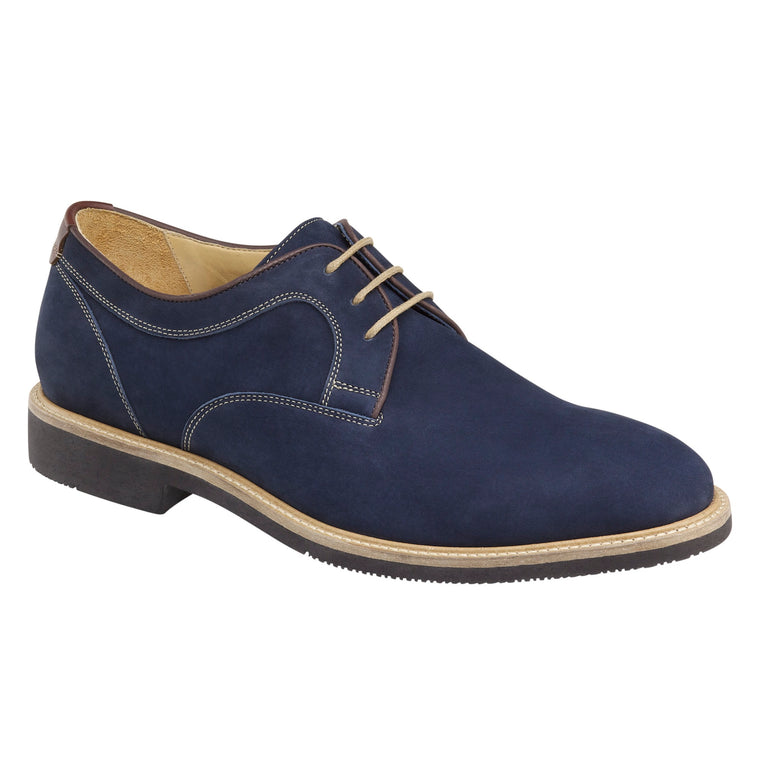 Men's Johnston & Murphy Barlow Plain Toe - Navy