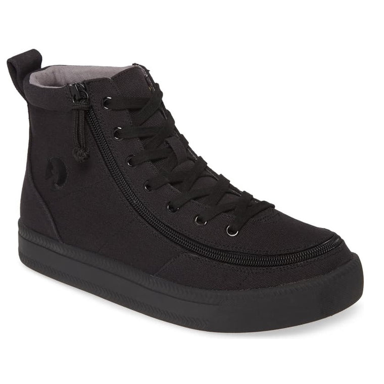 Men's BILLY Footwear Classic High Top Sneaker - Black To The Floor