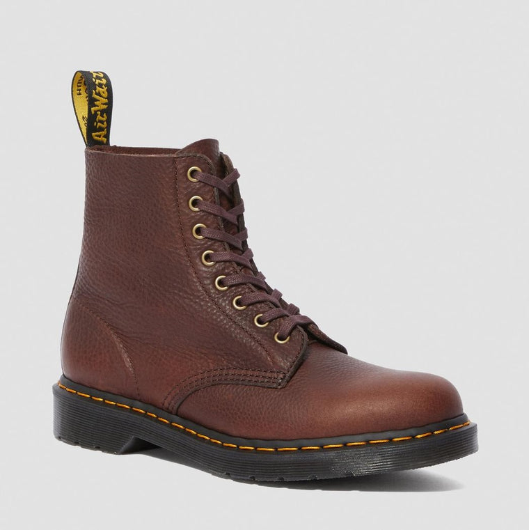 Dr. Martens Men's 1460 Pascal Ambassador Leather Lace Up Boots - Cask