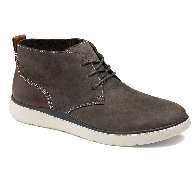 Men's Johnston & Murphy Farley Chukka Boot - Charcoal Oiled Nubuck