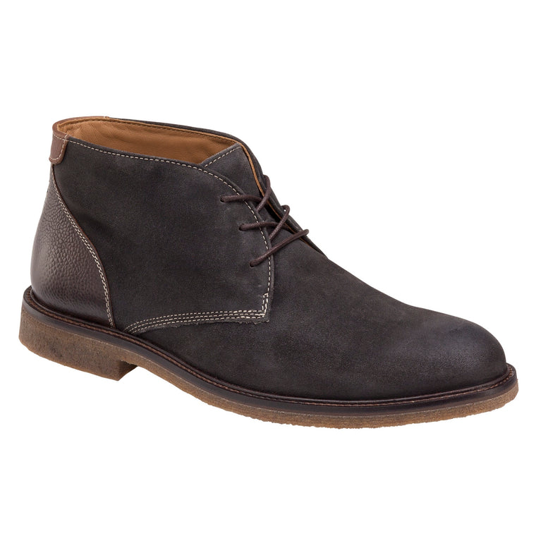 Men's Johnston & Murphy Copeland Chukka - Gray Oiled Suede