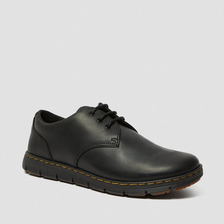 Dr. Martens Men's Rhodes Leather Casual Shoes - Black Berkley