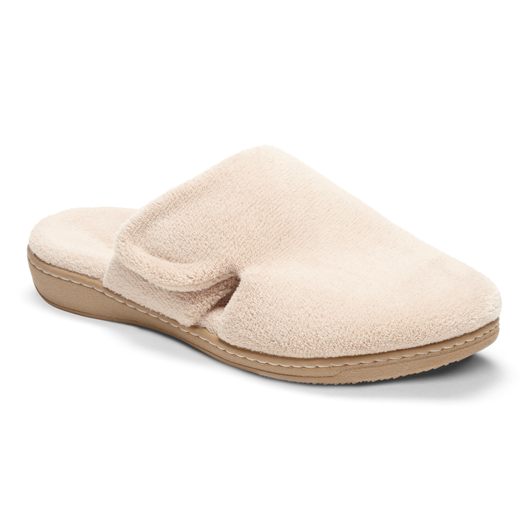 Vionic Women's Gemma Mule Slippers - Tan