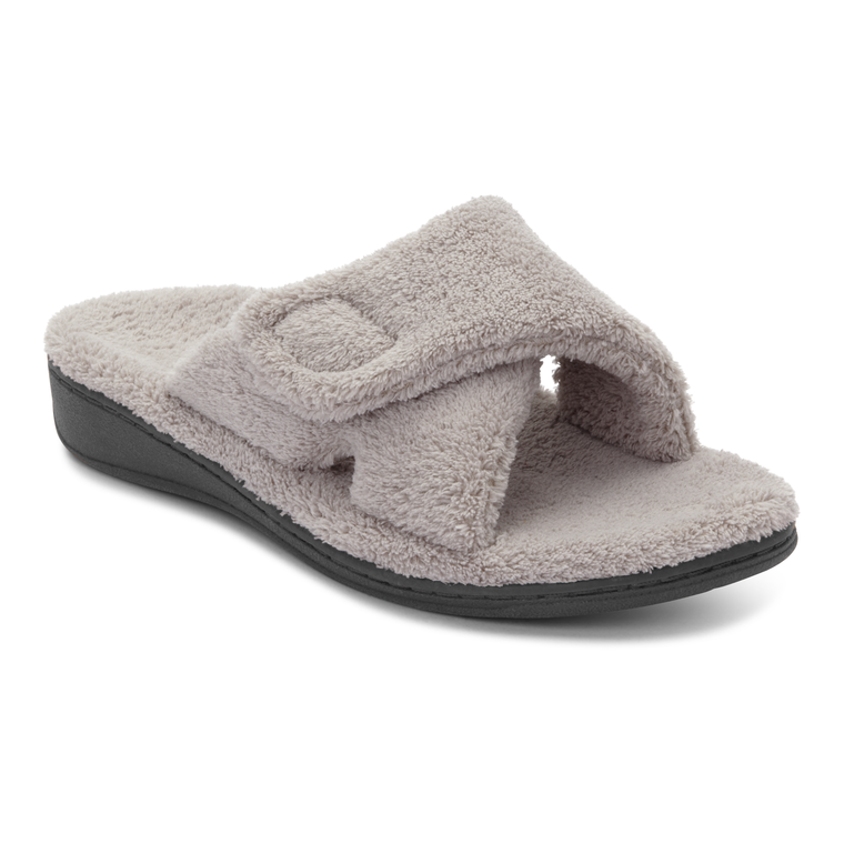 Vionic Women's Relax Slippers - Light Grey