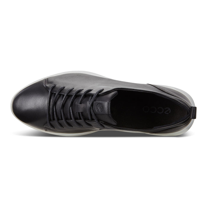 Ecco Women's Flexure Runner Tie Shoes - Black