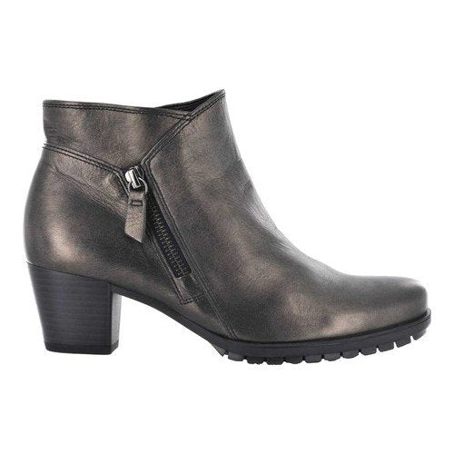 Gabor Women's 96.603-13 Heeled Bootie - Pewter