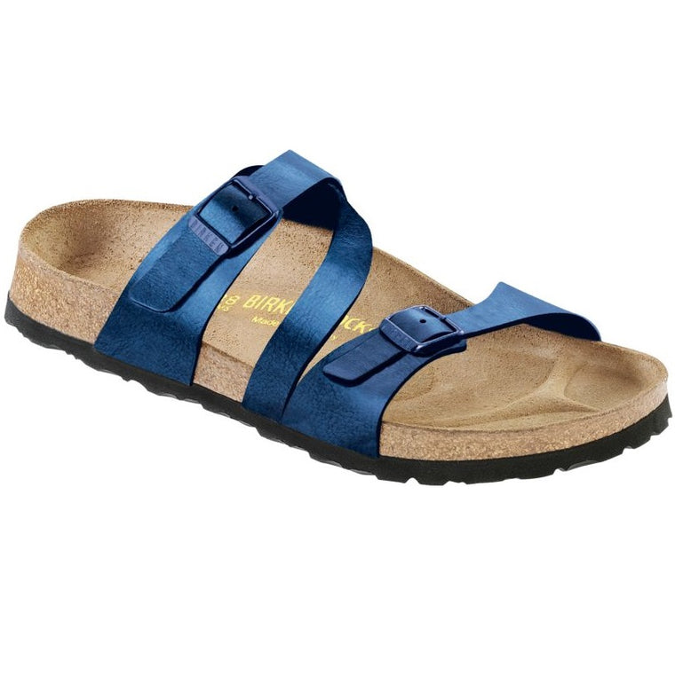Women's Birkenstock Salina Sea Birko-Flor Slide Sandals