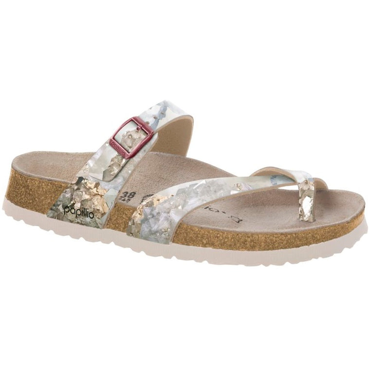 Women's Birkenstock Papillio Tabora Crystal Rose Sandals