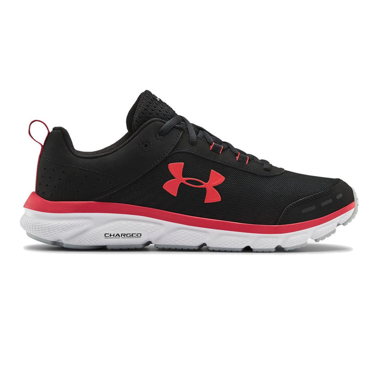 Under Armour Men's UA Charged Assert 8 Running Shoes - Black/White