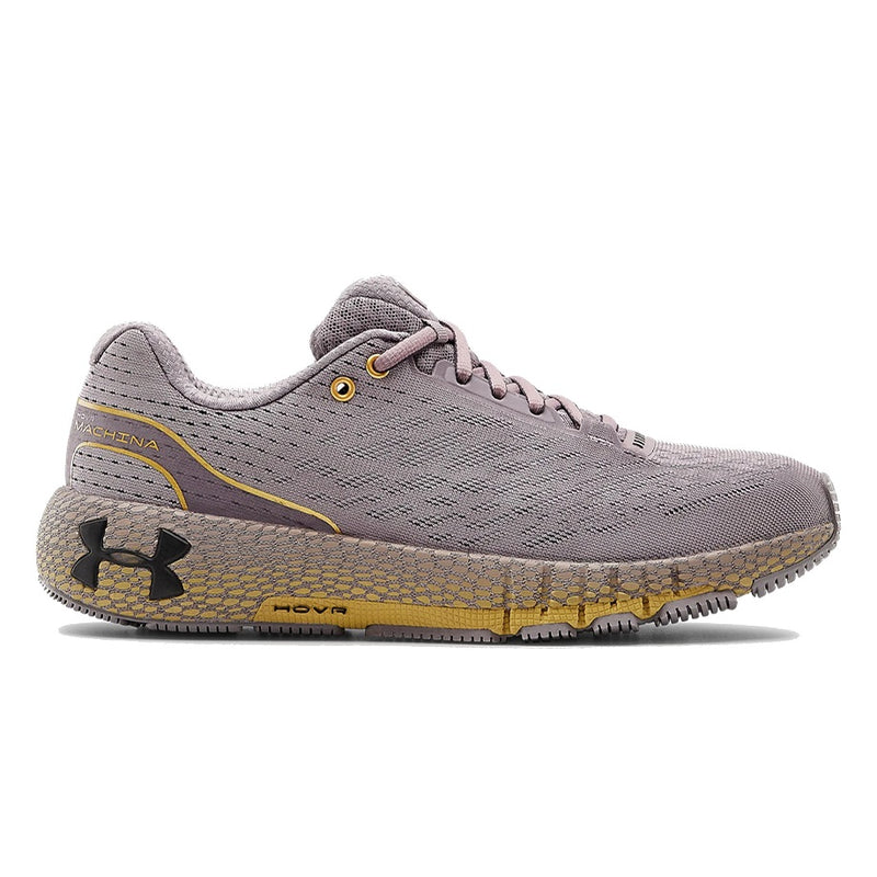 Under Armour Women's UA HOVR Machina Running Shoes - Slate Purple/Metallic Gold Luster/Blackout Purple