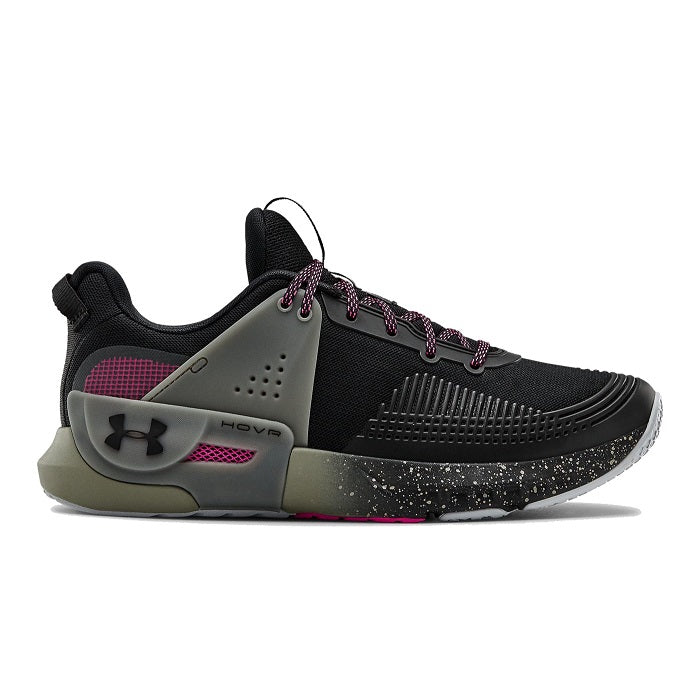 Under Armour Men's UA HOVR Apex Training Shoes - Black/Gravity Green