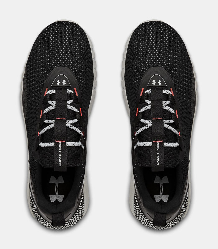 Under Armour Men's UA HOVR STRT Sportstyle Shoes - Black/Halo Gray