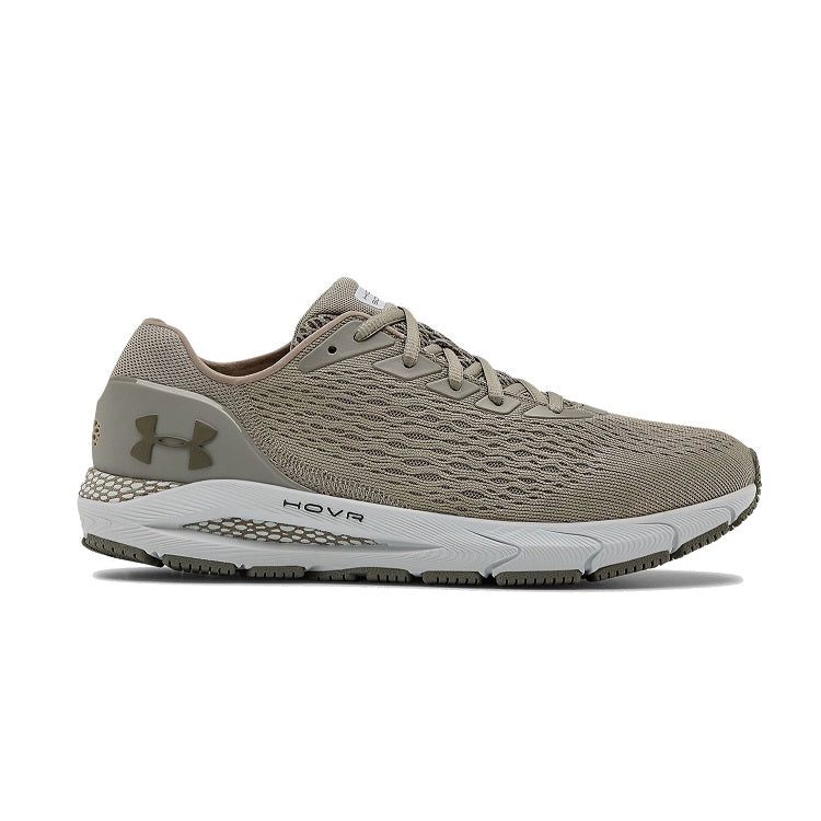 Under Armour Men's UA HOVR Sonic 3 Running Shoes - Gravity Green/Halo Gray