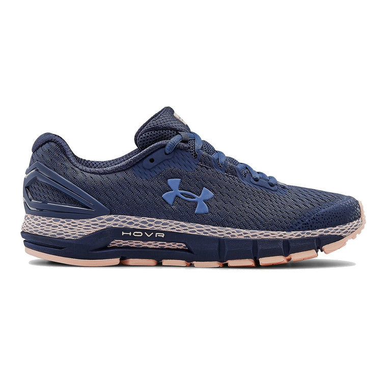Under Armour Women's UA HOVR Guardian 2 Running Shoes - Blue Ink/Peach Frost