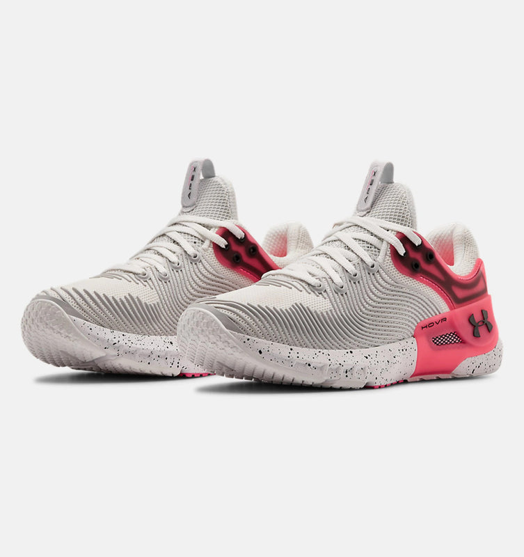 Under Armour Women's UA HOVR Apex 2 Training Shoes - White/Cerise/Black