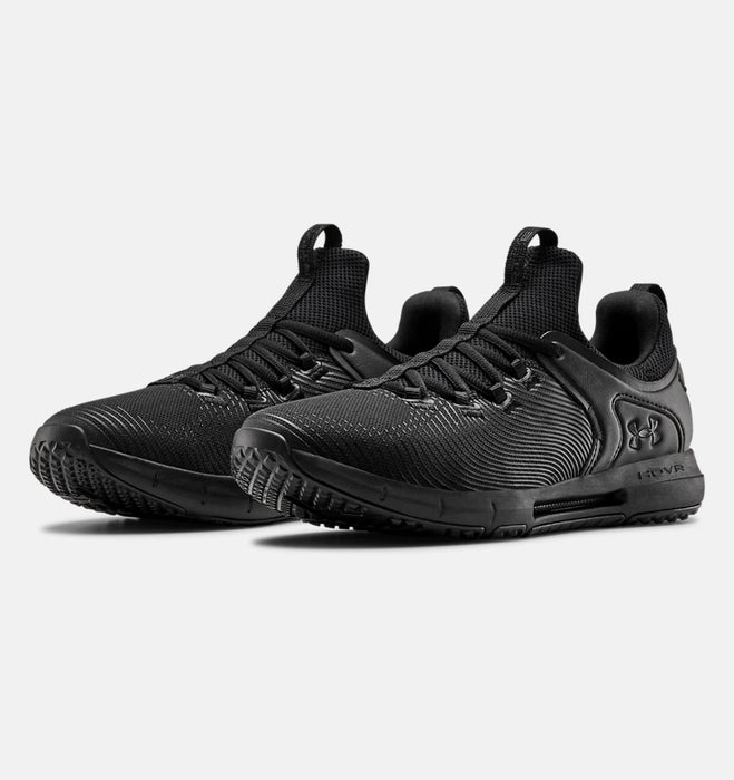 Under Armour Men's UA HOVR Rise 2 Training Shoes - Black/Black/Black