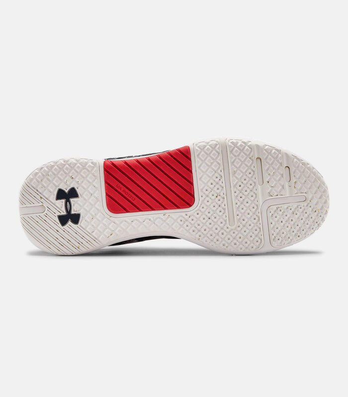 Under Armour Men's UA HOVR Rise 2 Training Shoes - Academy/White
