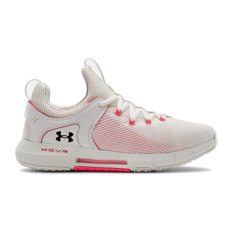 Under Armour Women's UA HOVR Rise 2 Training Shoes - White/White/Black