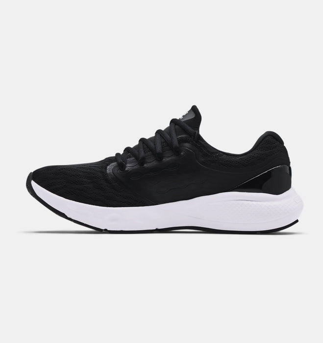 Under Armour Men's UA Charged Vantage Running Shoes - Black/White