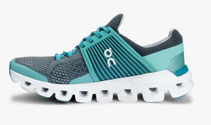 On Women's Cloudswift Running Shoes - Teal/Storm