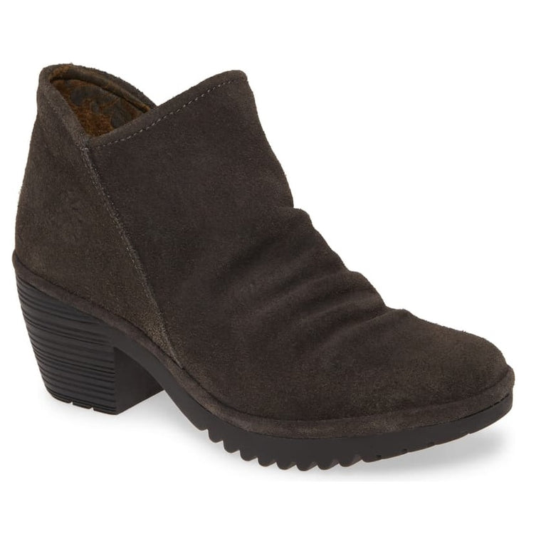 Women's Fly London Wezo Bootie - Diesel Oil Suede