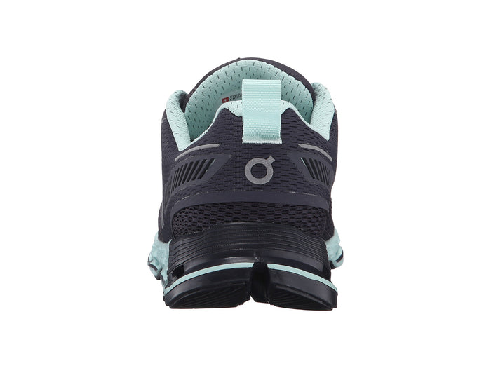 Women's On Cloudflyer Running Shoes - Grey/Jade