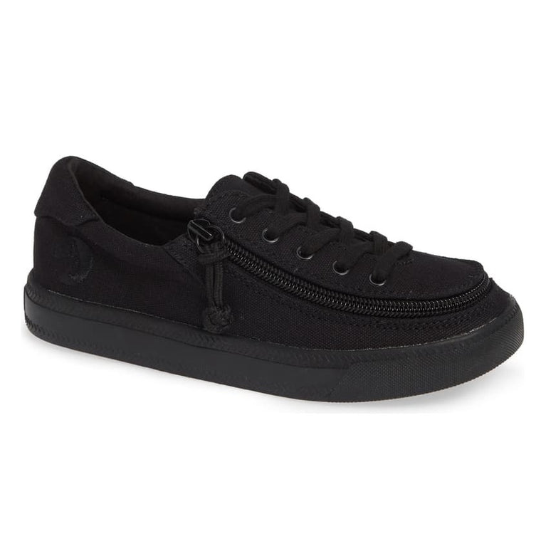 Kids' BILLY Footwear Classic Lace Zip Low - Black To The Floor